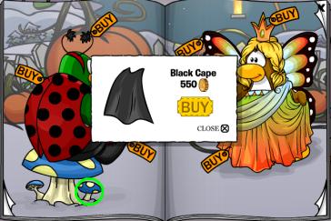 Black cape cheat