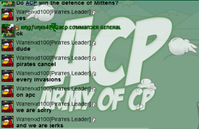 The Endless ACP War | ACP: The Official Army of Club Penguin ...
