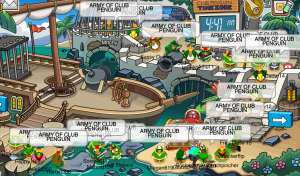 army of clubpenguin