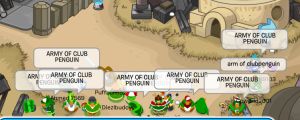 army of cp penguin