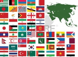 8371098-set-of-flags-and-maps-of-all-asian-countries-and-dependent-territories--all-flags-have-accurate-colo