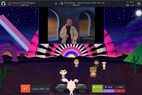 being-rick-rolled